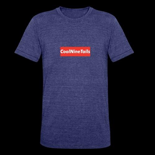 CoolNineTails supreme logo - Unisex Tri-Blend T-Shirt
