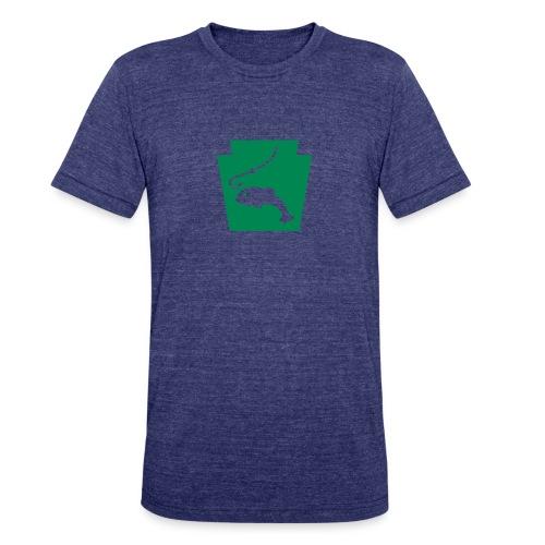 Pennsylvania Fishing Keystone PA - Unisex Tri-Blend T-Shirt