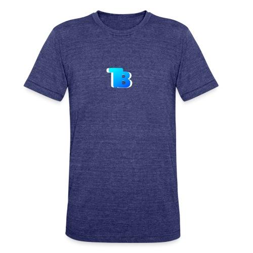 Trublu Overlapping letter Design - Unisex Tri-Blend T-Shirt