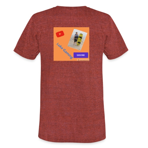 Luke Gaming T-Shirt - Unisex Tri-Blend T-Shirt