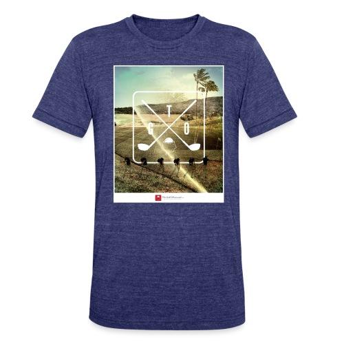 TGO_vintagecourse-02 - Unisex Tri-Blend T-Shirt