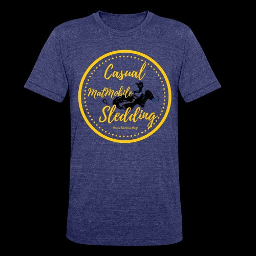 Casual MatMobile Edition - Unisex Tri-Blend T-Shirt