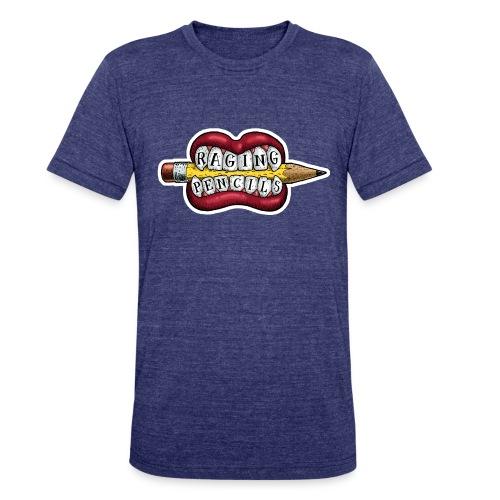Raging Pencils Bargain Basement logo t-shirt - Unisex Tri-Blend T-Shirt