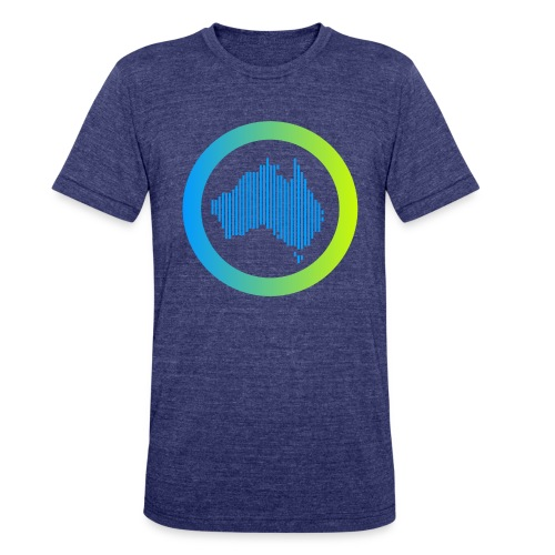 Gradient Symbol Only - Unisex Tri-Blend T-Shirt