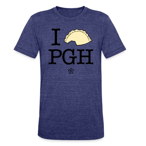 I pierog PGH - Unisex Tri-Blend T-Shirt