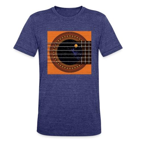 Cool Guitar Soundhole - Unisex Tri-Blend T-Shirt