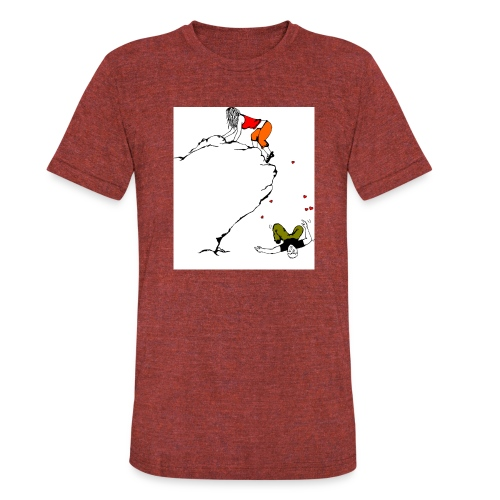 Lady Climber - Unisex Tri-Blend T-Shirt