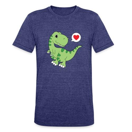 Dinosaur Love - Unisex Tri-Blend T-Shirt