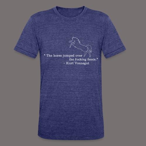 Kurt Vonnegut Sports Journalist - Unisex Tri-Blend T-Shirt