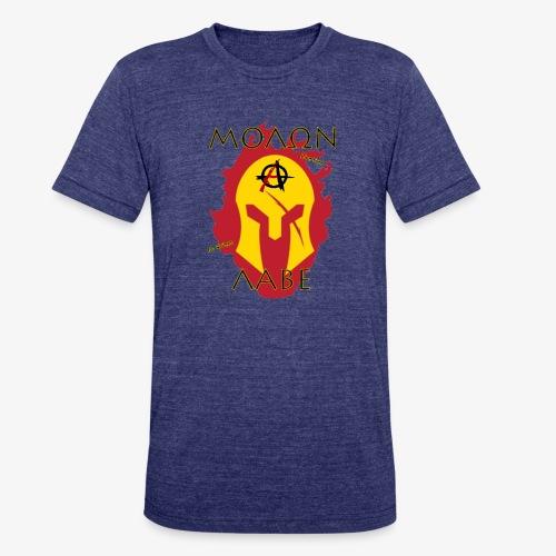 Molon Labe - Anarchist's Edition - Unisex Tri-Blend T-Shirt
