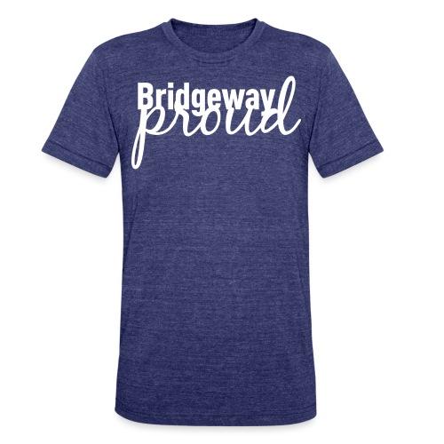 Bridgeway Proud White - Unisex Tri-Blend T-Shirt