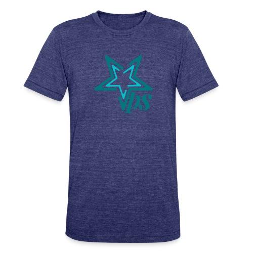Teal star - Unisex Tri-Blend T-Shirt