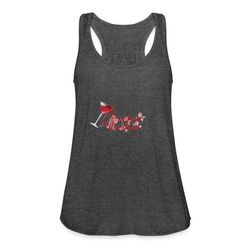 Signature Martini Tip Over - Women's Flowy Tank Top by Bella