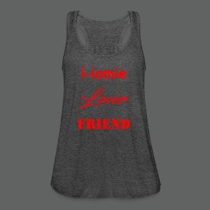 Homie Lover Friend - Women's Flowy Tank Top by Bella