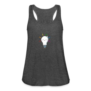 Lighten Up - Women's Flowy Tank Top by Bella