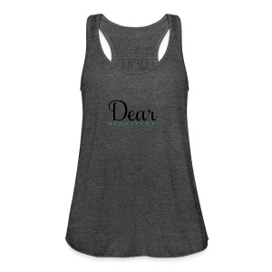 Dear Beautiful Campaign - Women's Flowy Tank Top by Bella