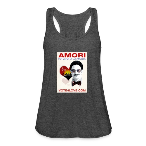 Amori for Mayor of Los Angeles eco friendly shirt - Women's Flowy Tank Top by Bella