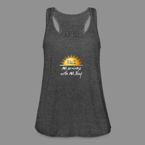 MWM Logo - Women's Flowy Tank Top by Bella
