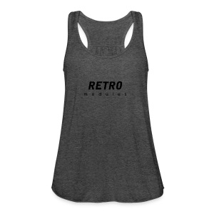 Retro Modules - sans frame - Women's Flowy Tank Top by Bella