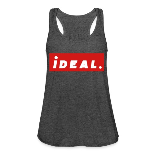 ideal Logo Red - Women's Flowy Tank Top by Bella
