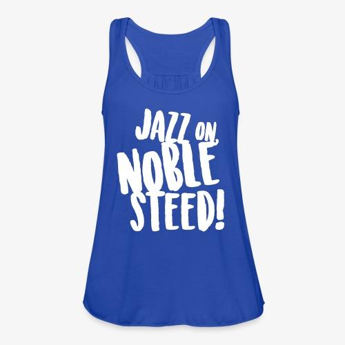 MSS Jazz on Noble Steed - Women's Flowy Tank Top by Bella