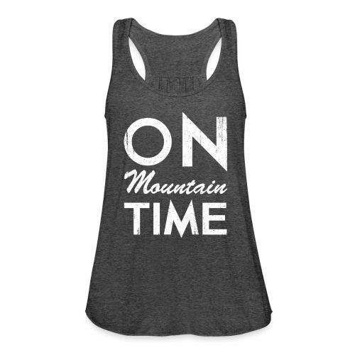 On Mountain Time - Women's Flowy Tank Top by Bella