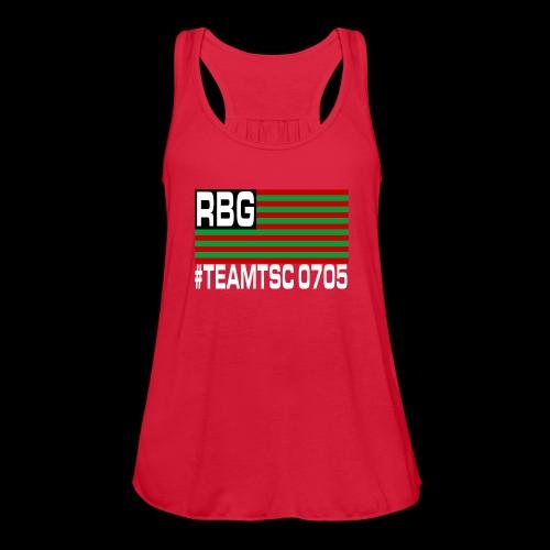 TeamTSC RBGFlag 2 - Women's Flowy Tank Top by Bella