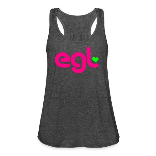 EGL SOLO sleeve - Women's Flowy Tank Top by Bella