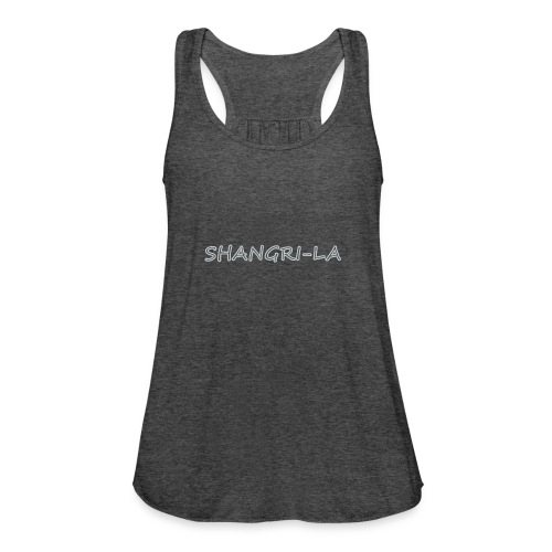 Shangri La silver - Women's Flowy Tank Top by Bella
