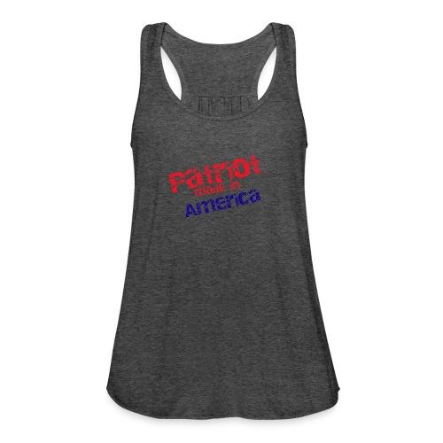Patriot mug - Women's Flowy Tank Top by Bella