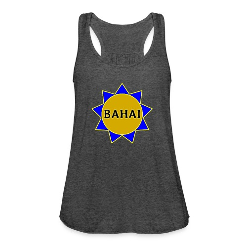 Bahai star - Women's Flowy Tank Top by Bella