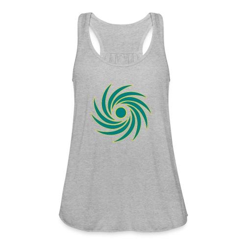 Whirl - Women's Flowy Tank Top by Bella