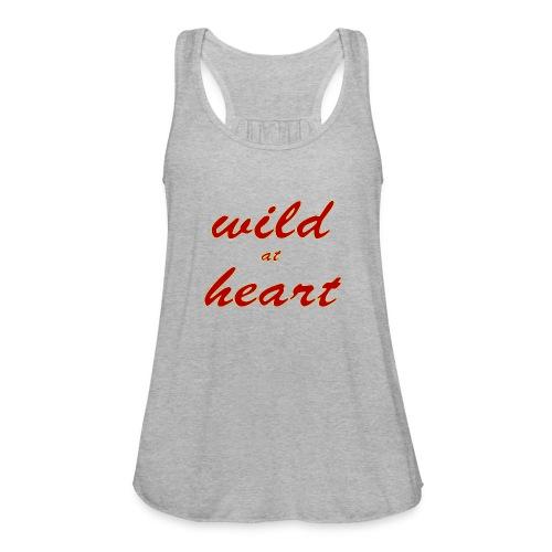 wild at heart - Women's Flowy Tank Top by Bella
