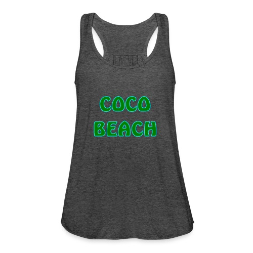 Coco beach - Women's Flowy Tank Top by Bella
