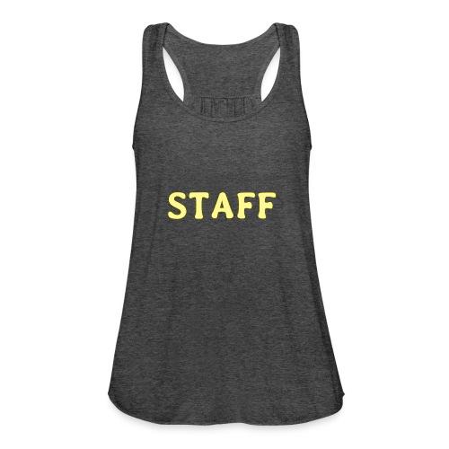 Staff - Women's Flowy Tank Top by Bella