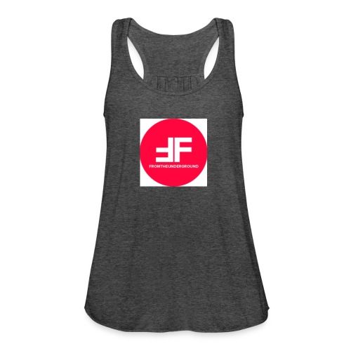 This is the underGround - Women's Flowy Tank Top by Bella