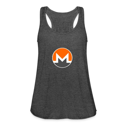 Monero crypto currency - Women's Flowy Tank Top by Bella