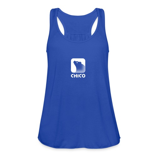 Chico's Logo with Name - Women's Flowy Tank Top by Bella