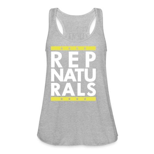 naturals2 - Women's Flowy Tank Top by Bella