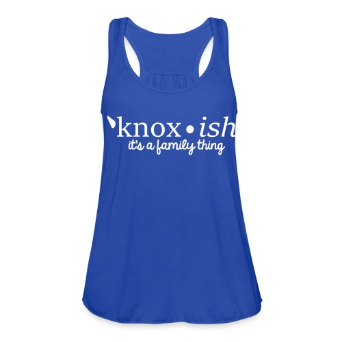 Knox-ish It's a Family Thing - Women's Flowy Tank Top by Bella