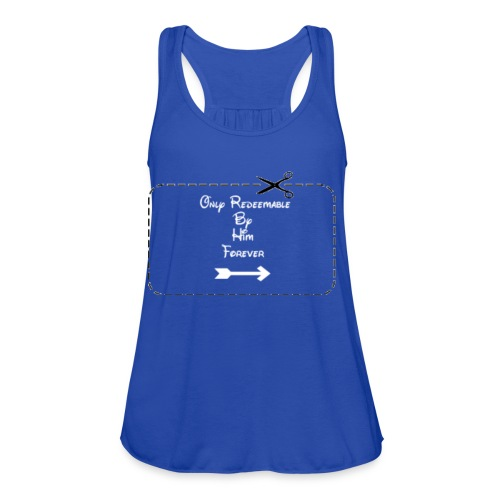 Couple's Coupon Design - Women's Flowy Tank Top by Bella