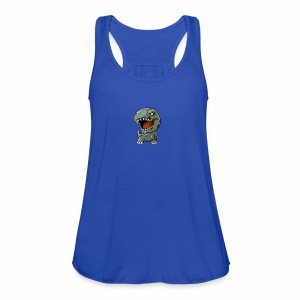 Zombie memeosauraus - Women's Flowy Tank Top by Bella