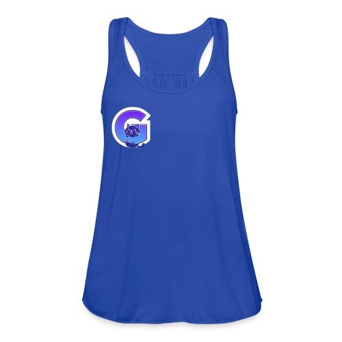 gkitty logo - Women's Flowy Tank Top by Bella