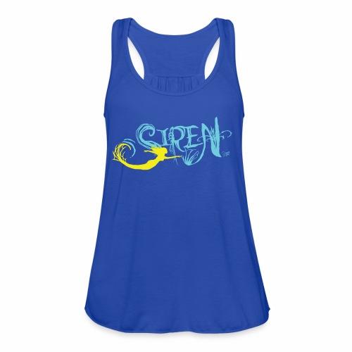 Sirens Color - Women's Flowy Tank Top by Bella