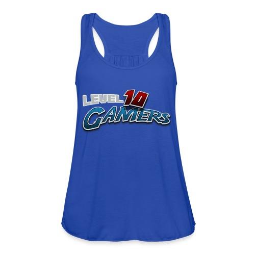 Level10Gamers Logo - Women's Flowy Tank Top by Bella