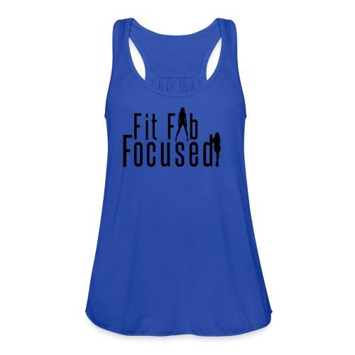 Fit Fab Focused Tee - Women's Flowy Tank Top by Bella