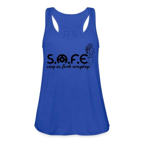 S.A.F.E (Sexy2 Brand) - Women's Flowy Tank Top by Bella