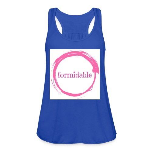 formidable - Women's Flowy Tank Top by Bella