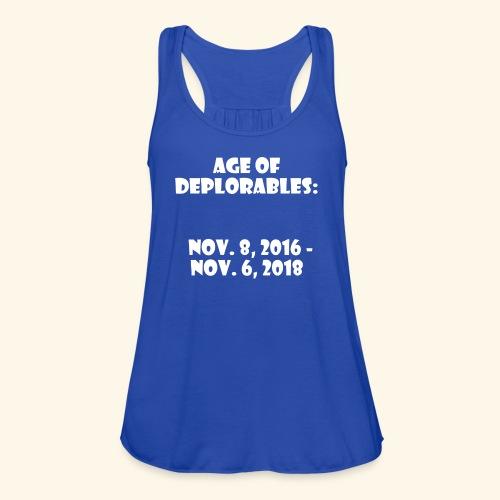 Age of Deplorables - Women's Flowy Tank Top by Bella