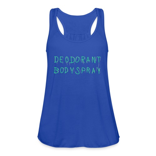 Deodorant Bodyspray - Women's Flowy Tank Top by Bella